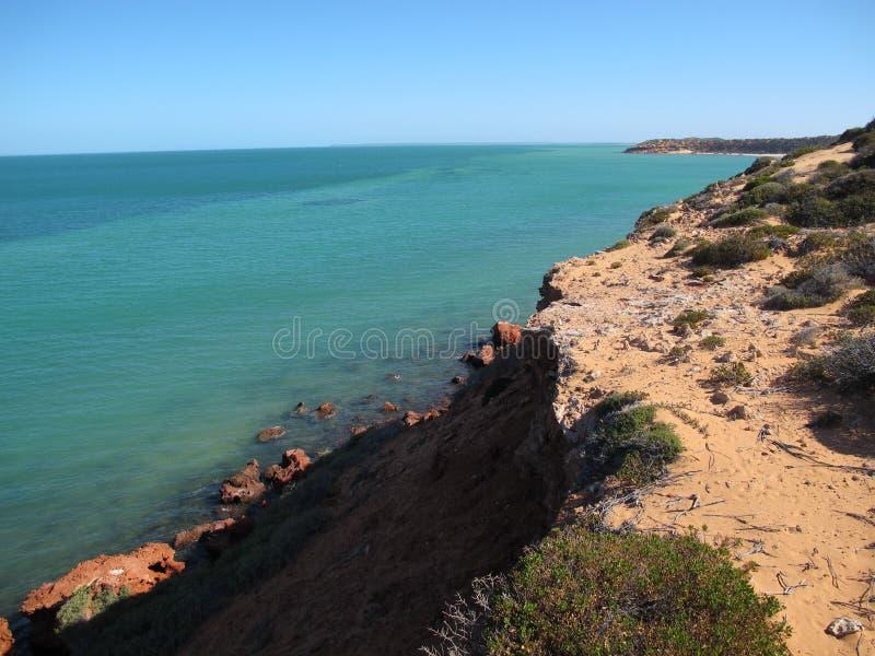 Francois Peron National Park, bahía del tiburón, Australia occidental imagen de archivo libre de regalías
