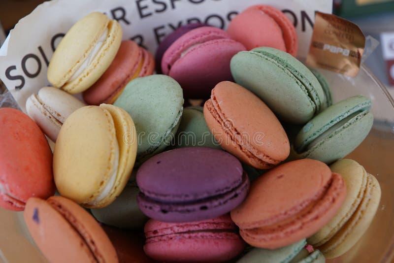 francuscy macarons zdjęcie royalty free