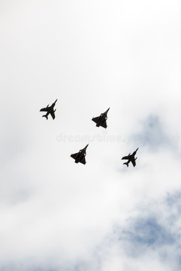 Francuscy wojsko samoloty obrazy royalty free