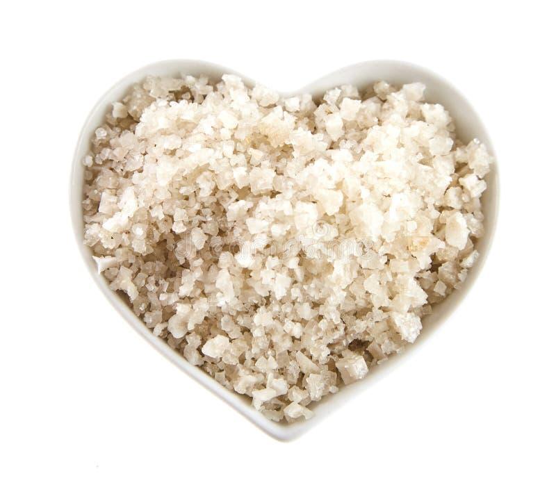 Francuska Guerande morza sól od Brittany fotografia stock