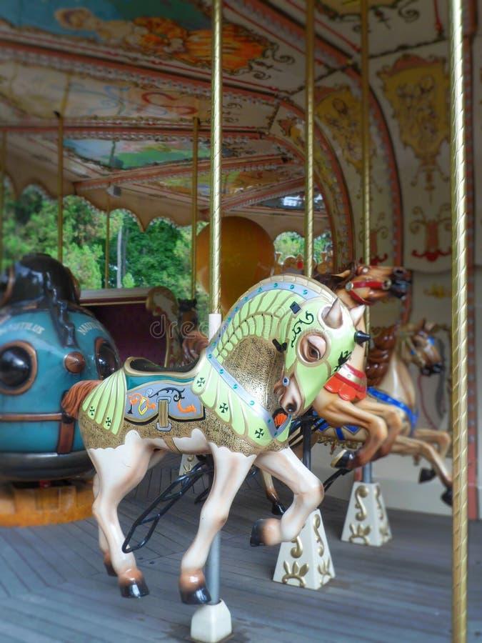 Francuski carousel obraz stock