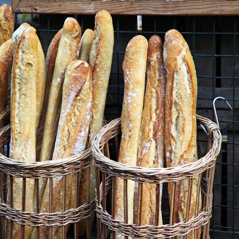 Francuski chleb obraz royalty free