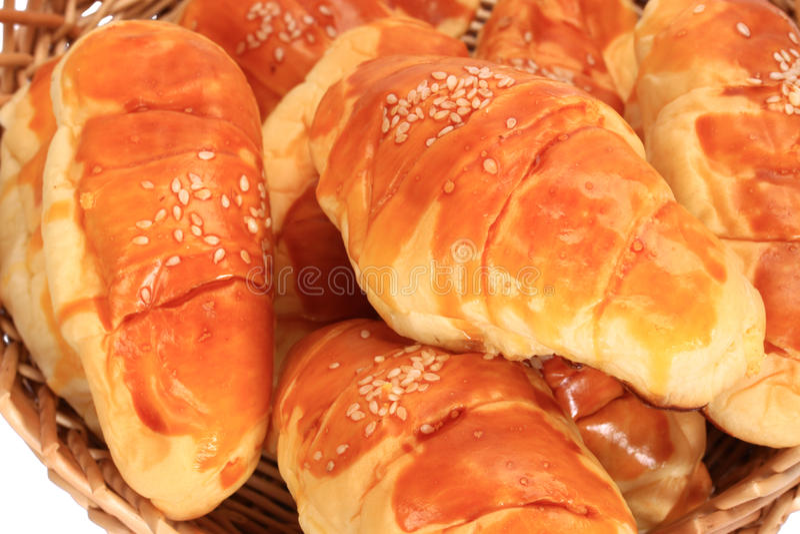 Francuski Croissant obraz royalty free