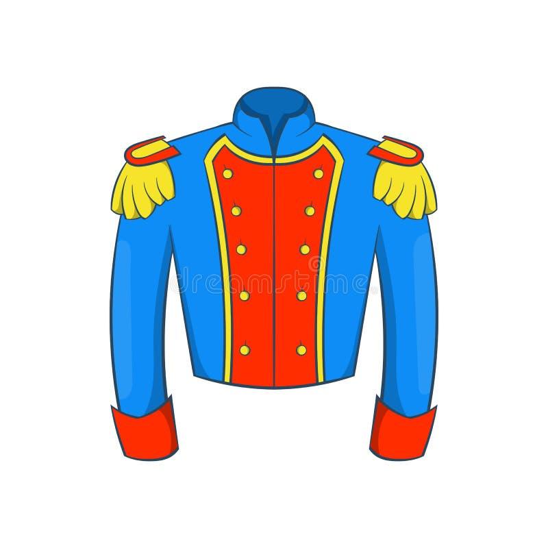 Francuski dziejowy mundur żołnierz ikona ilustracja wektor