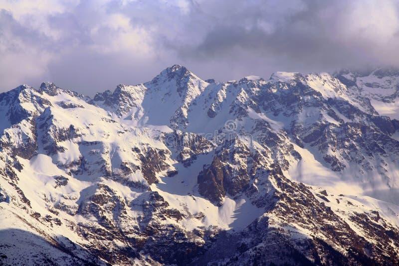 francuski krajobraz alpy zdjęcia royalty free