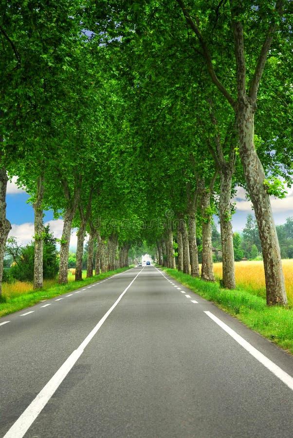 francuski kraju road zdjęcia royalty free