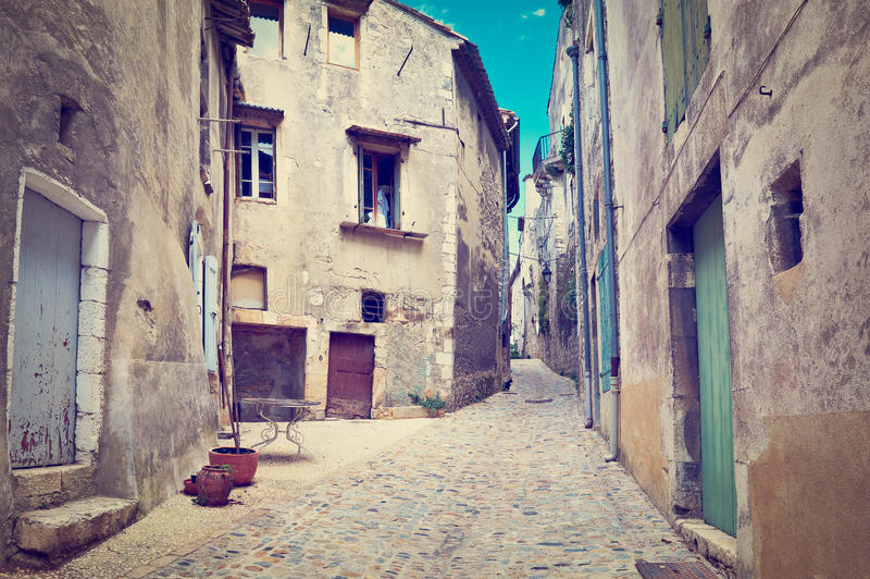 Francuski miasto zdjęcia stock