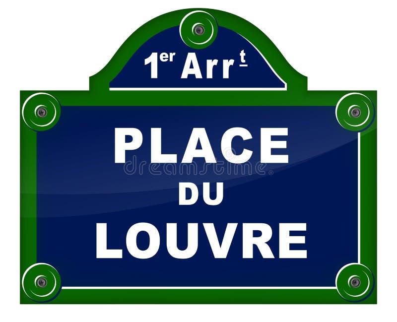 Francuski projekt podpisuje wewnątrz Paris royalty ilustracja