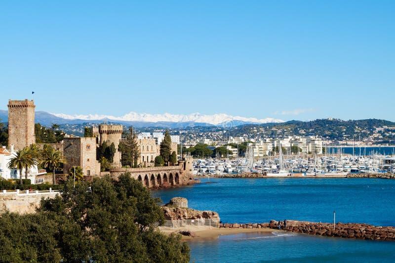 Francuski Riviera zdjęcia royalty free