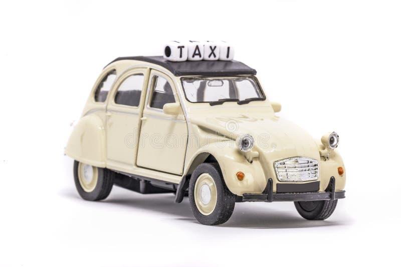 Francuski taxi pojęcie fotografia stock