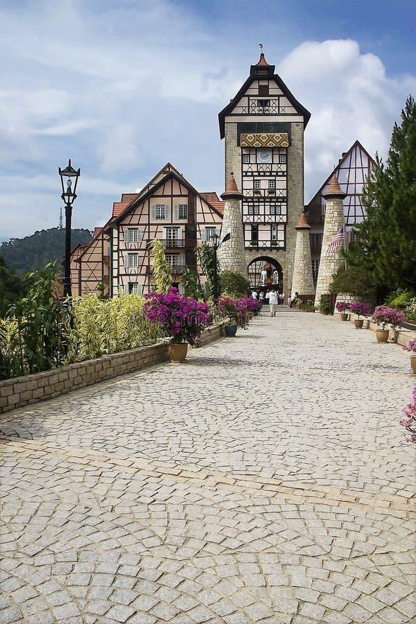 francuski zamek obrazy royalty free