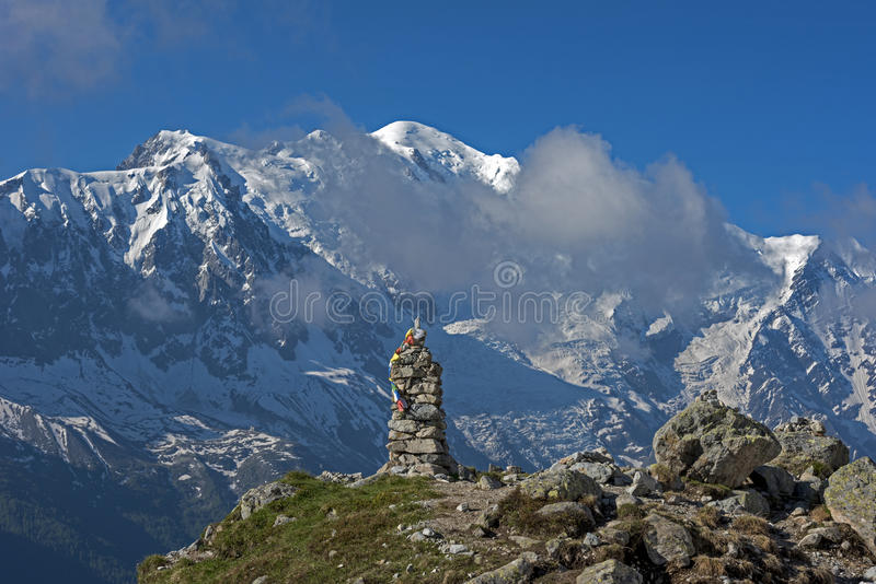 francuskich alp obraz stock