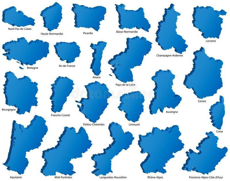 francuskie regiony