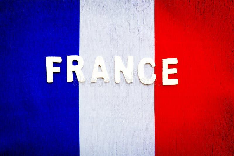 Francuz flaga fotografia royalty free