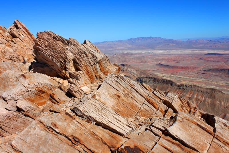 Francuz Mountain View Nevada fotografia stock
