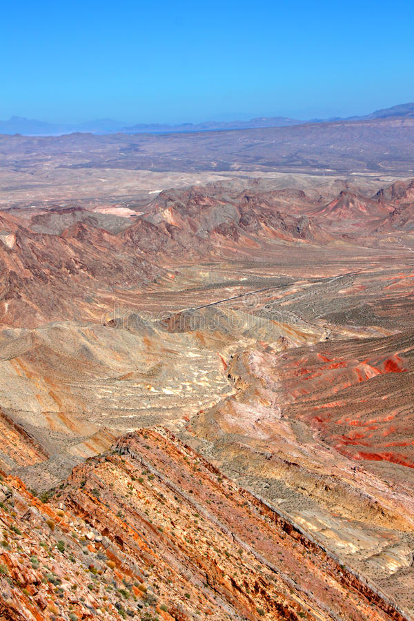 Francuz Mountain View Nevada zdjęcia stock