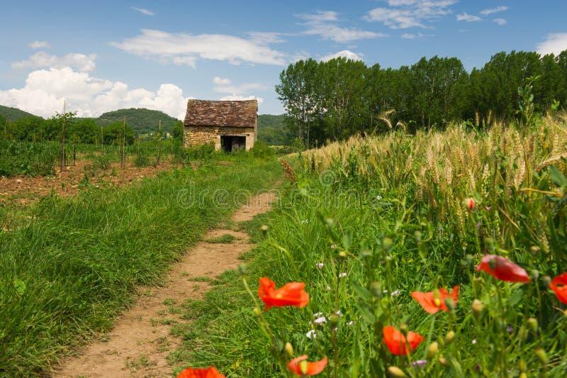 Download Francuza krajobraz zdjęcie stock. Obraz złożonej z krajobraz - 34432748