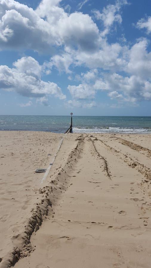 Frangiflutti della spiaggia immagini stock libere da diritti