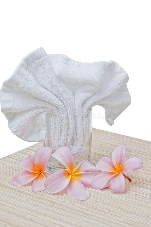 Download Frangipani And Handkerchief Royalty Free Stock Image - Image: 22695196