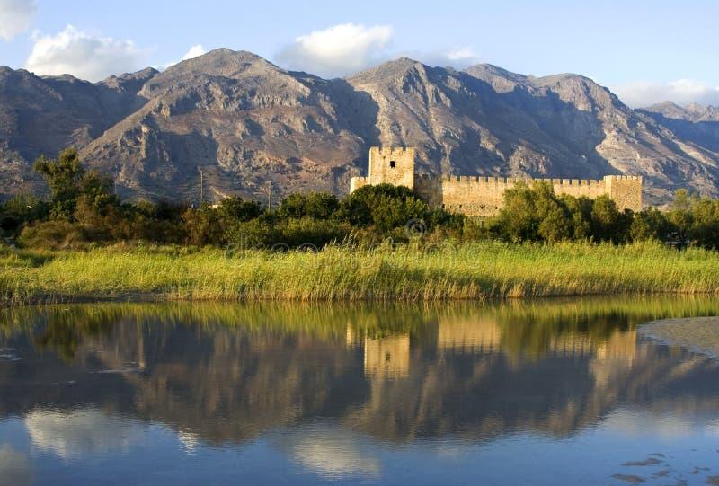 Frangokastello castle stock image