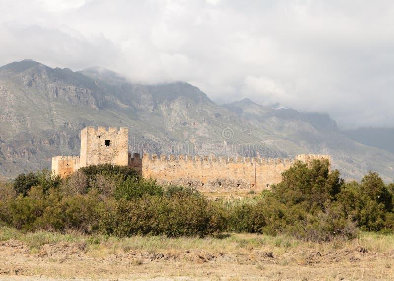 Download Frangokastello Fort On Crete Stock Image - Image: 22287397