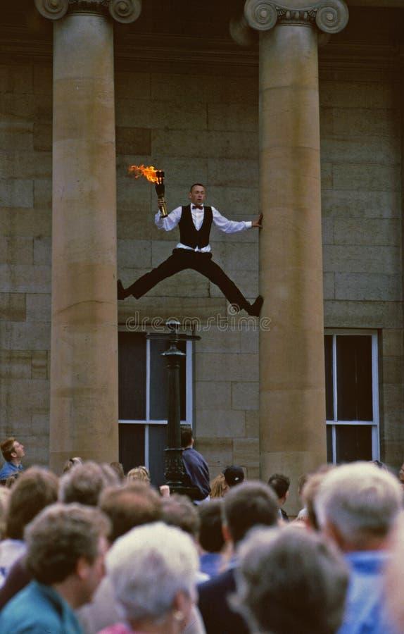 Franja do festival de Edimburgo imagem de stock royalty free