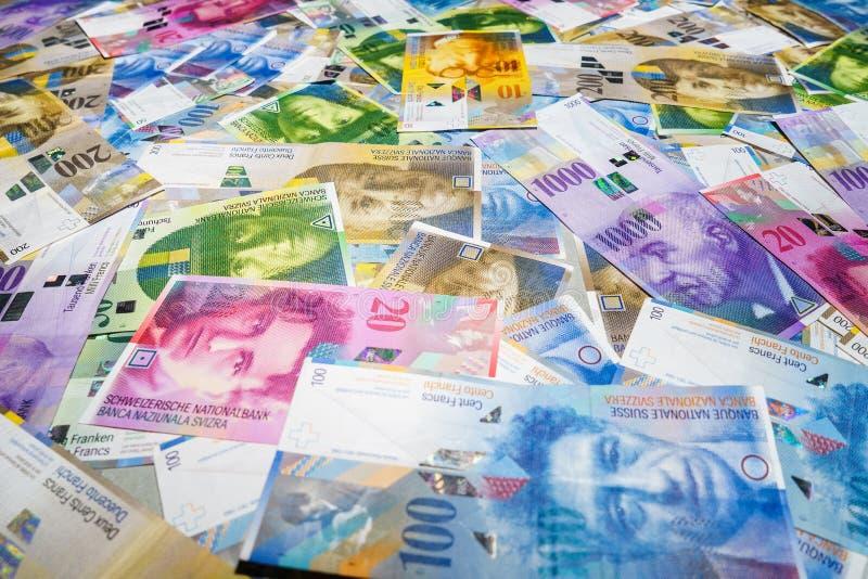 franków szwajcarskich obrazy royalty free