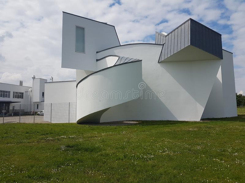 Frank Gehry, Vitra design museum, Basel Swiss. Frank gehry vitra design museum  swiss basel   architecture contemporaryart modernism royalty free stock photo