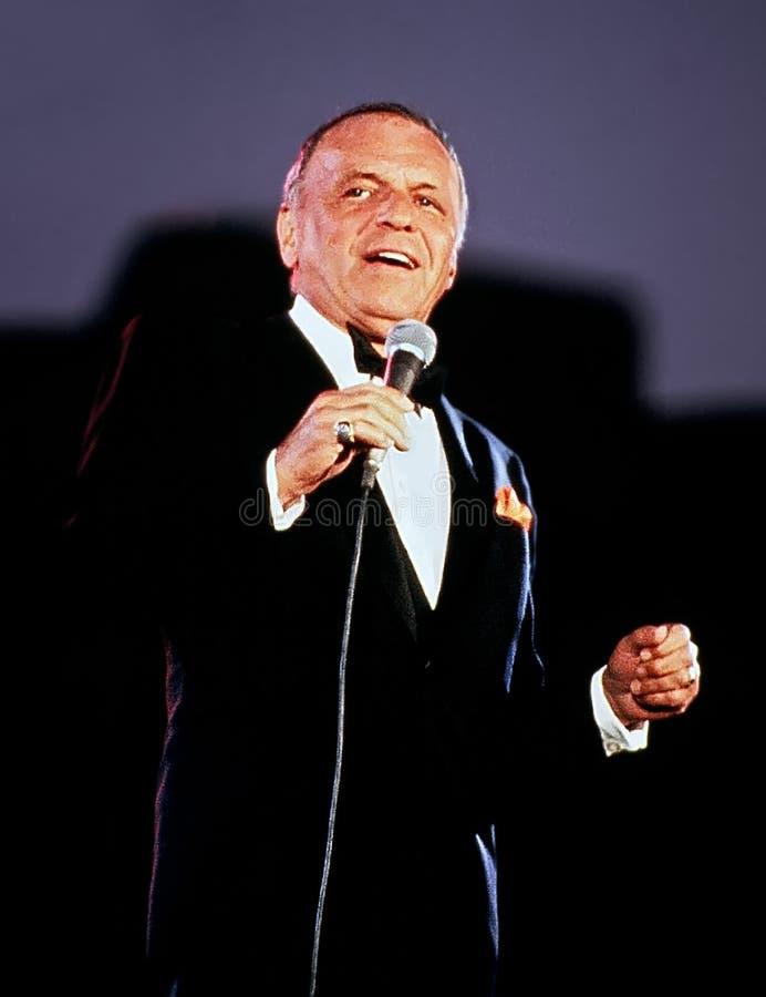 Frank Sinatra image stock