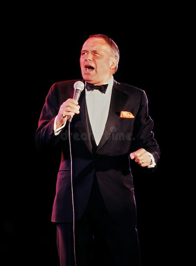 Frank Sinatra photo libre de droits