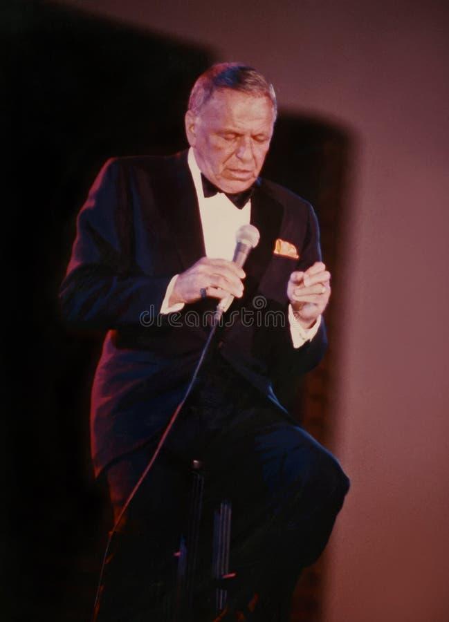 Frank Sinatra stock fotografie