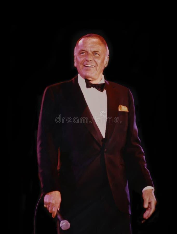 Frank Sinatra fotografía de archivo