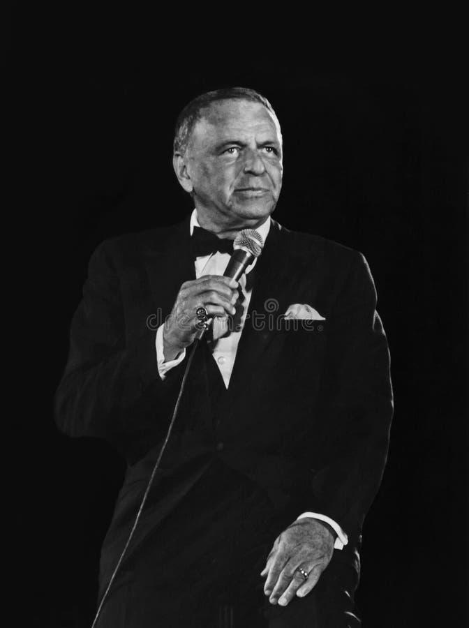 Frank Sinatra 免版税库存图片