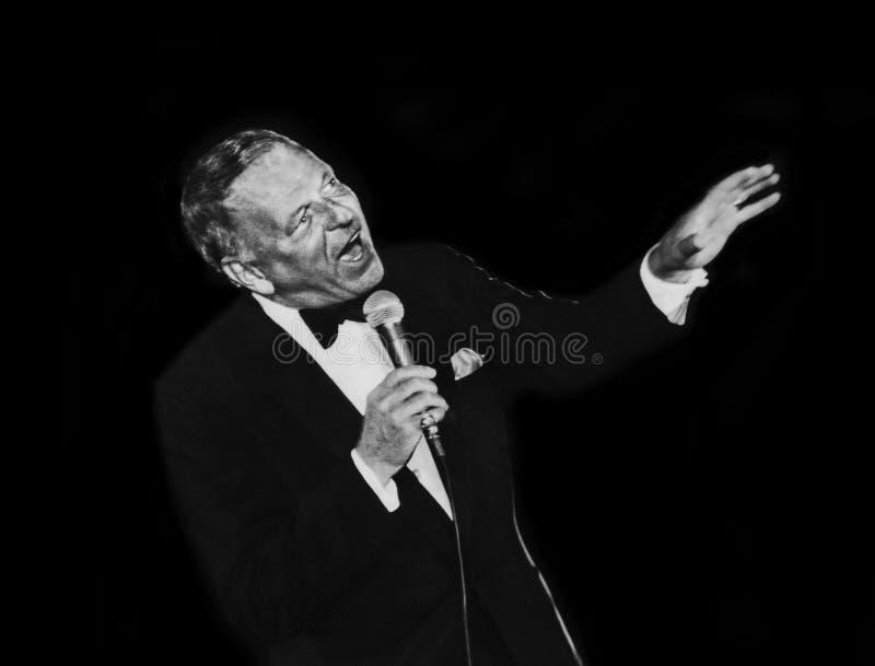 Frank Sinatra foto de stock royalty free
