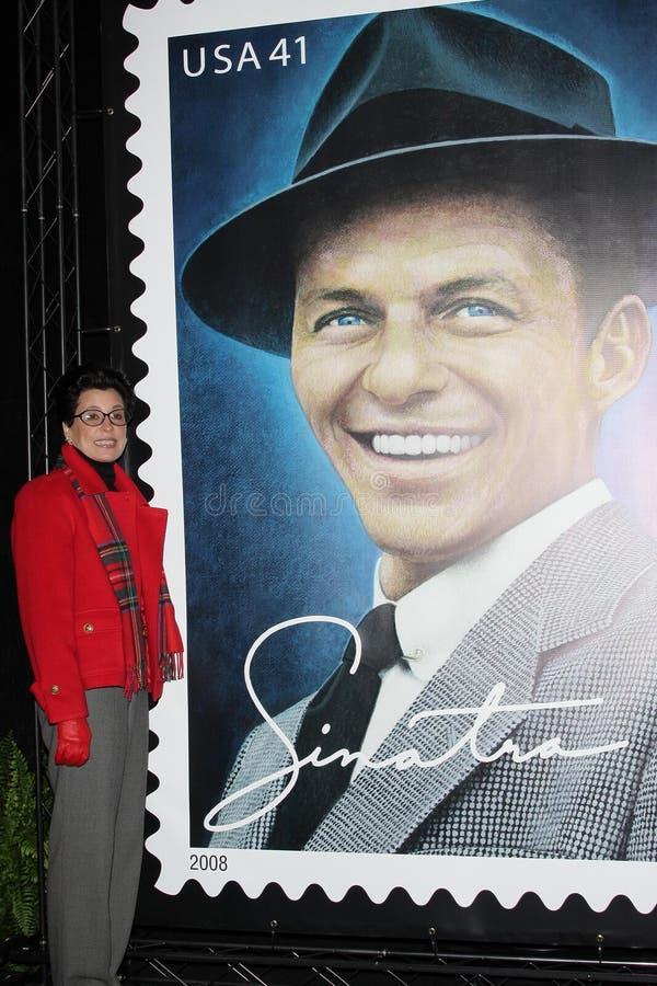 Frank Sinatra, Tina Sinatra stock foto's