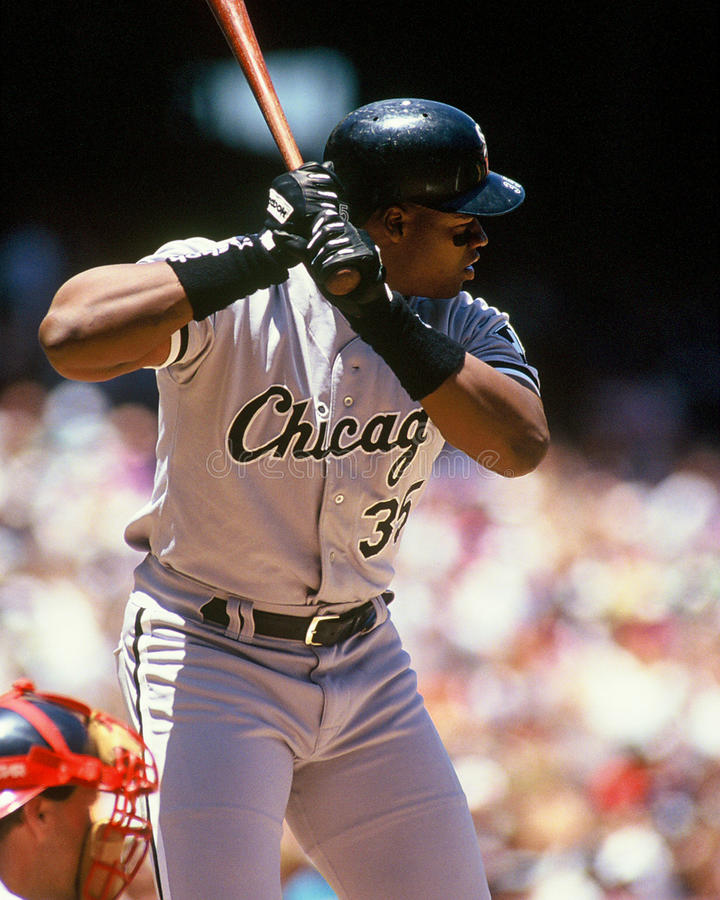 Frank Thomas Chicago White Sox photo libre de droits