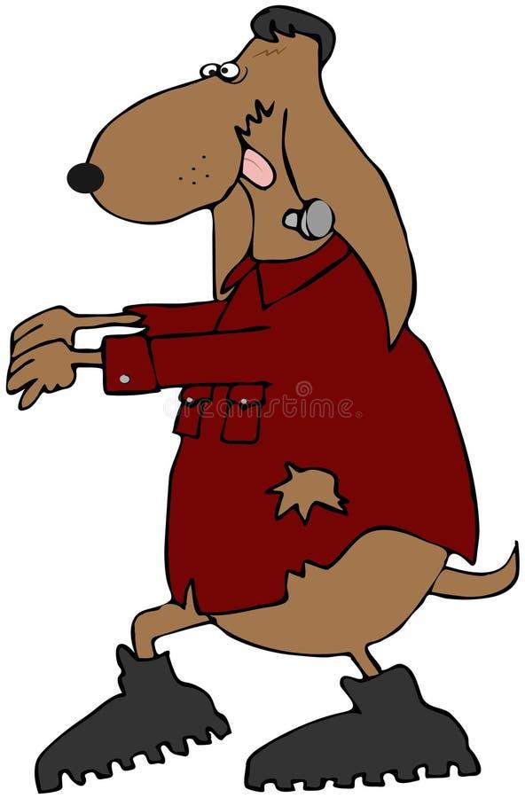 Frankendog illustration de vecteur