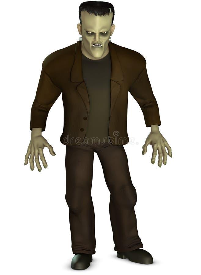 Frankenstein stock de ilustración