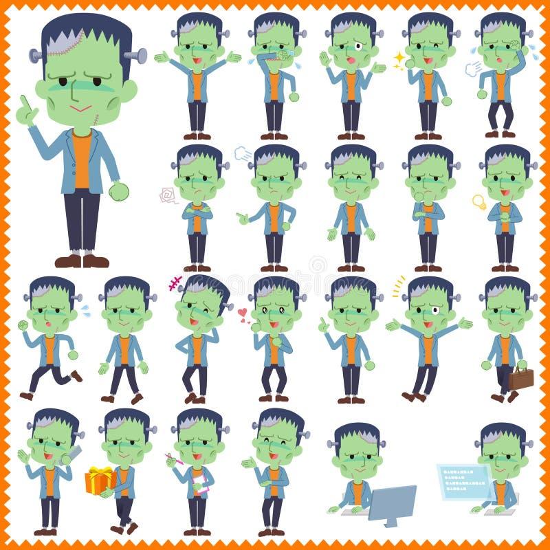 Frankenstein ilustração royalty free