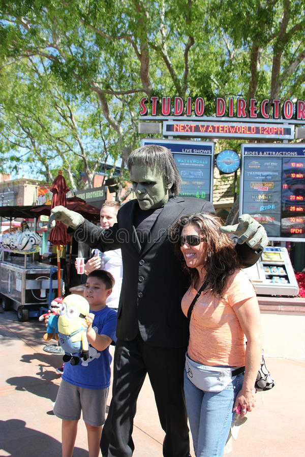 Frankenstein aux studios universels Hollywood photos stock