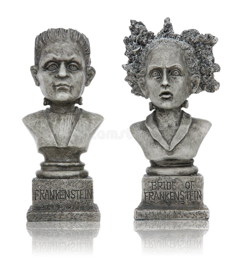 frankenstein Halloween statuy obraz royalty free