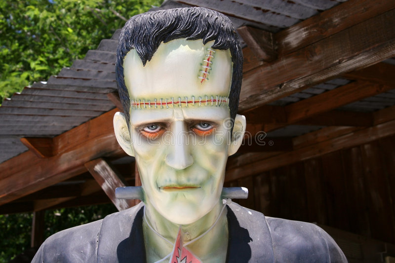 Frankenstein Monster. A Frankenstein monster at a souvenir store