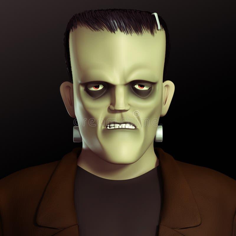 Download Frankenstein monster stock illustration. Image of inhuman - 26840611