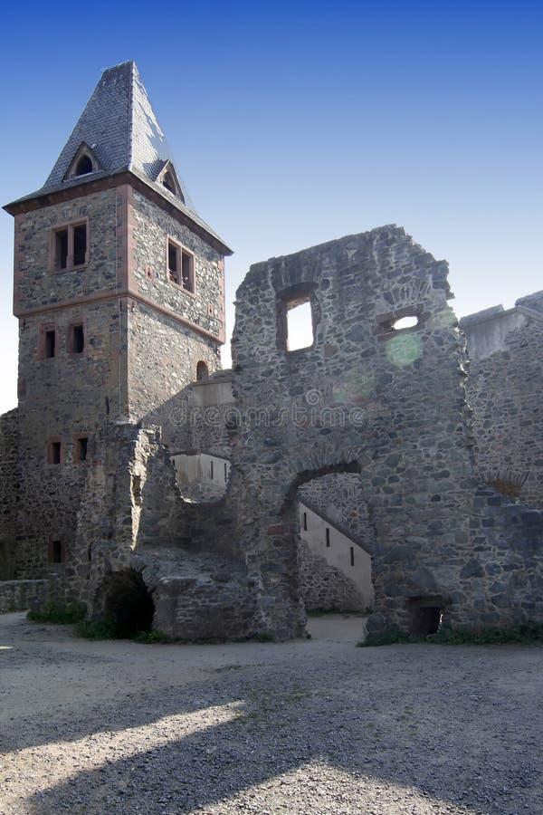 Frankenstein's castle royalty free stock images