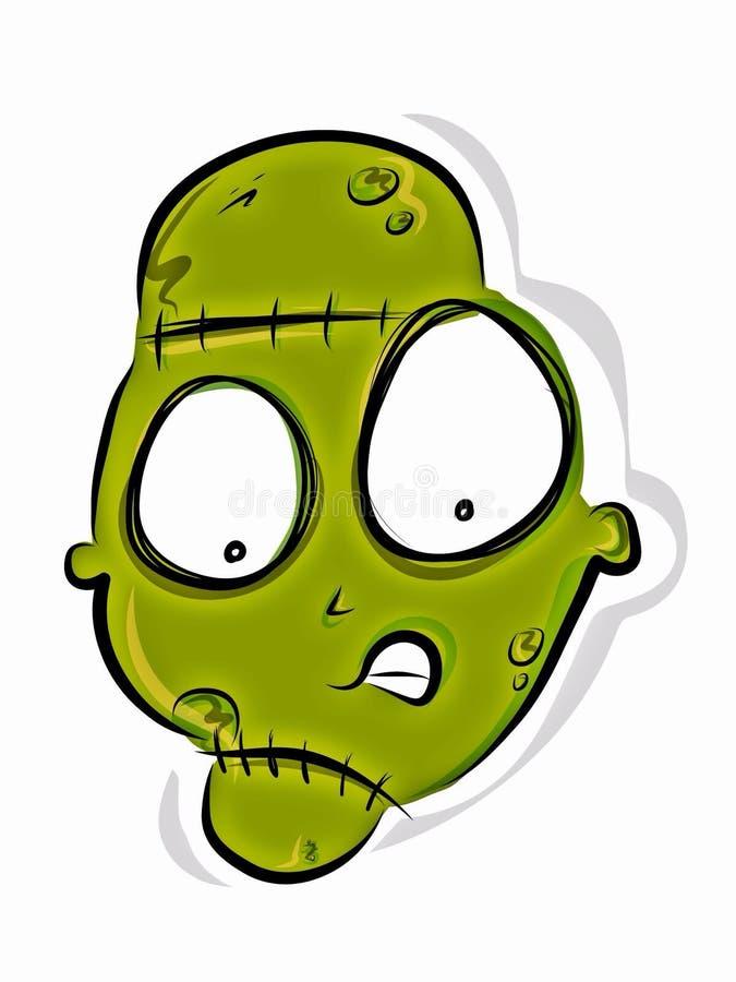 Frankenstein sveglio immagine stock