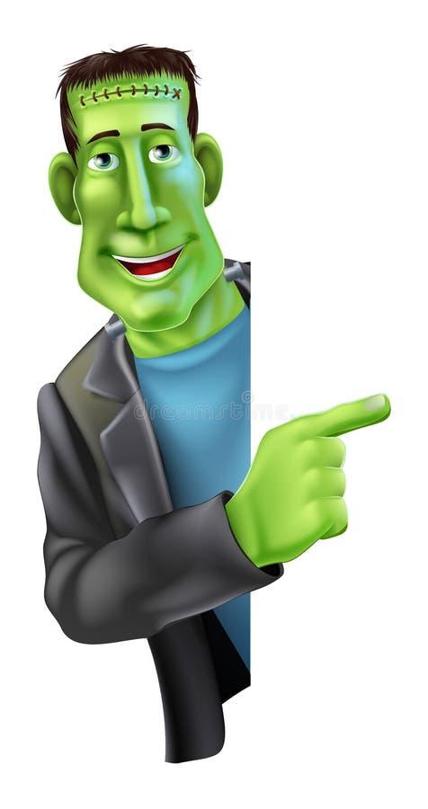 Download Frankensteins Monster Pointing Stock Vector - Image: 32082639