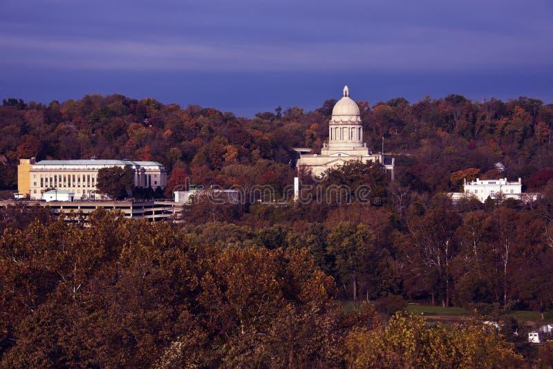 Frankfort, Kentucky - stanu Capitol budynek zdjęcia stock