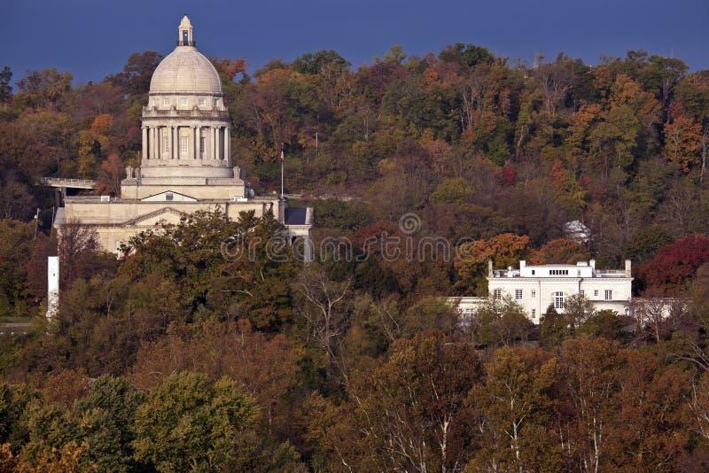 Frankfort, Kentucky - stanu Capitol budynek fotografia stock
