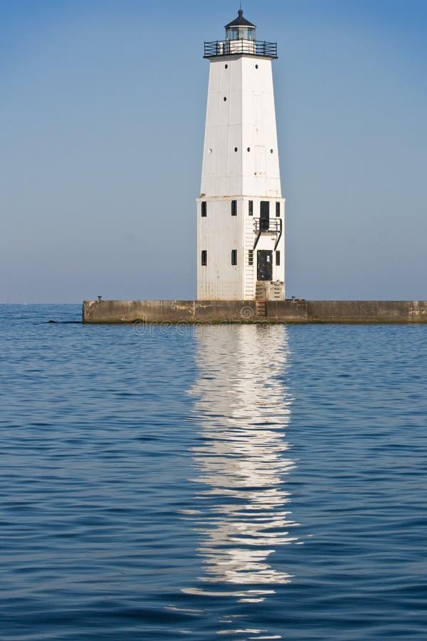 frankfort latarni morskiej ranek zdjęcia royalty free