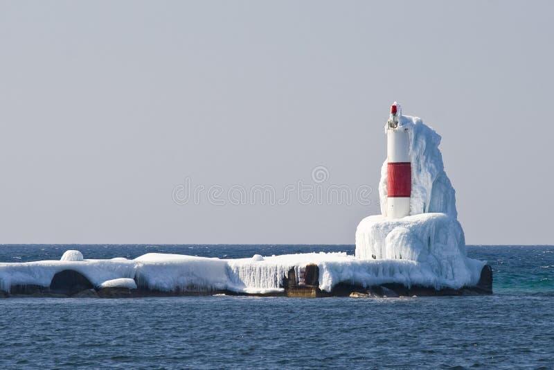 Frankfort latarnia morska fotografia royalty free